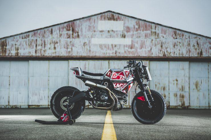 Vibrazioni Art Design Ducati Monster 800 6