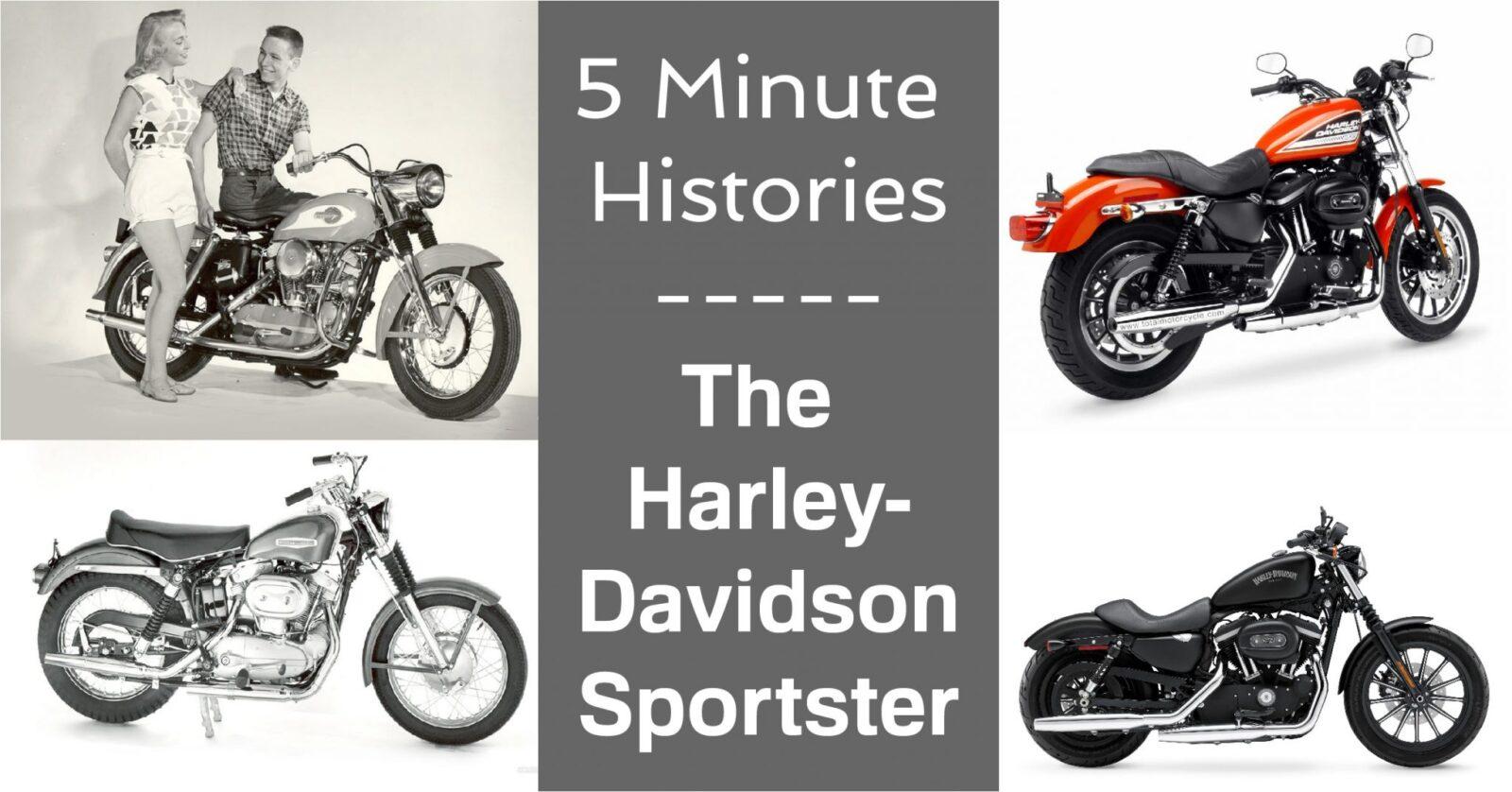 eBay Facebook 5 Minute Harley 1600x838 - 5 Minute Histories: Harley-Davidson Sportster