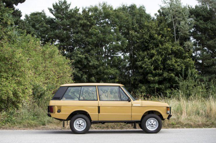 Colin Chapman's Range Rover Classic 10