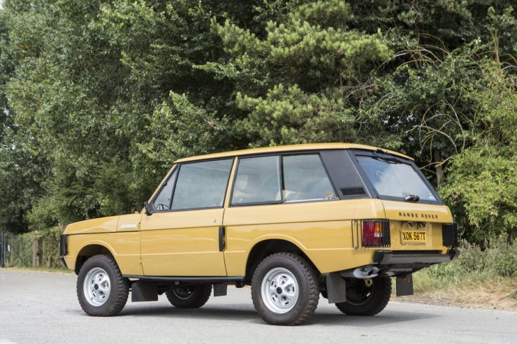 Colin Chapman's Range Rover Classic 11