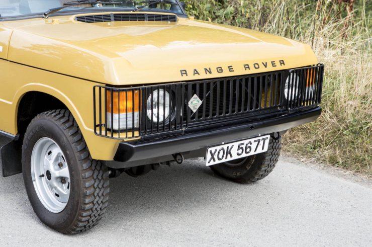 Colin Chapman's Range Rover Classic 6