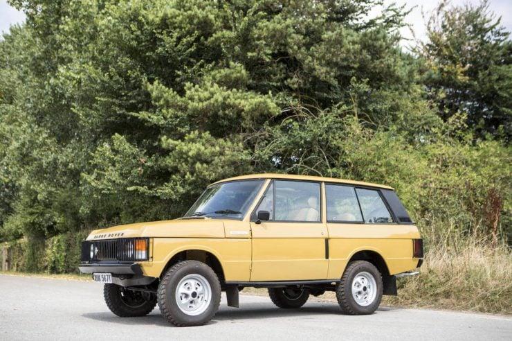 Colin Chapman's Range Rover Classic
