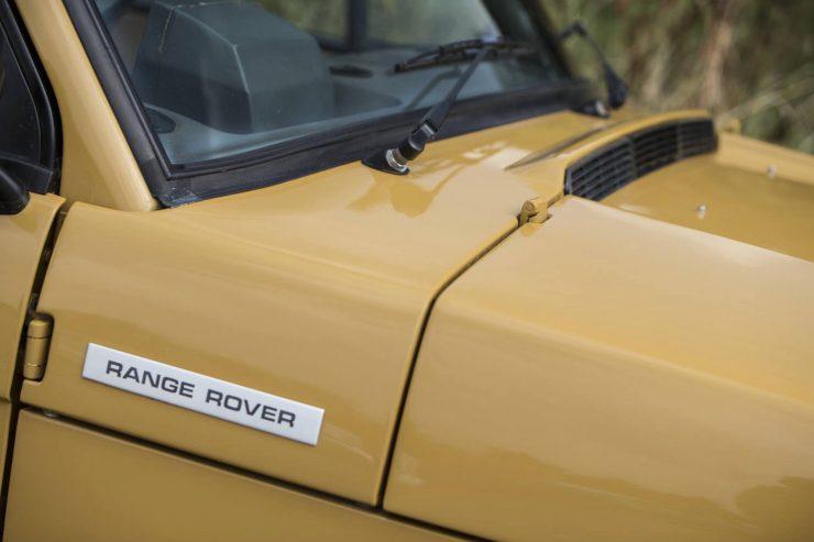 Colin Chapman's Range Rover Classic 9