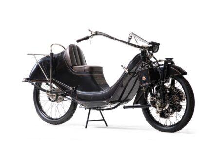 Megola Motorcycle Touring Model 5 1 450x330 - The Radial Engined Megola Motorcycle