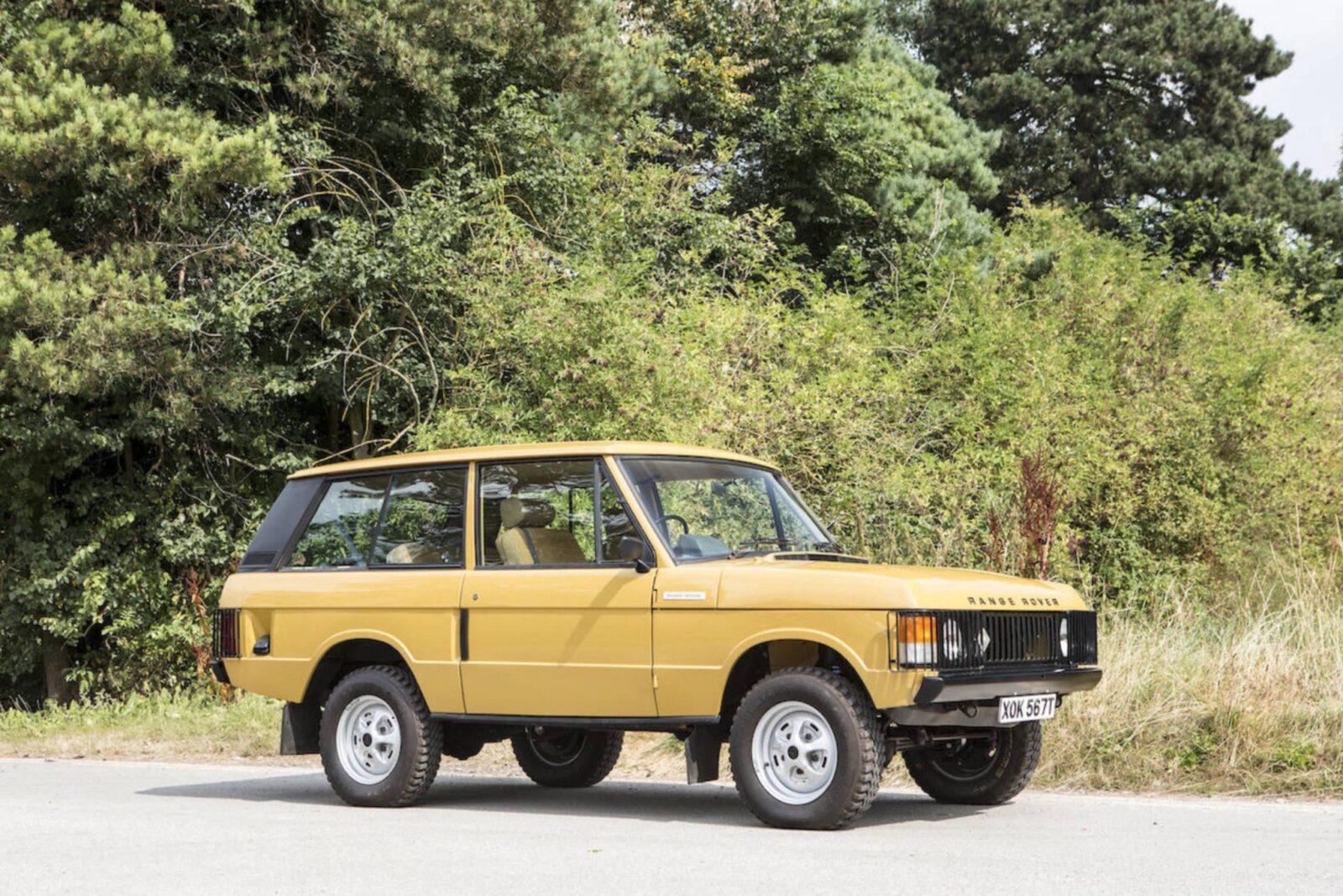 Range Rover Classic 1600x1067 - Colin Chapman's Range Rover Classic