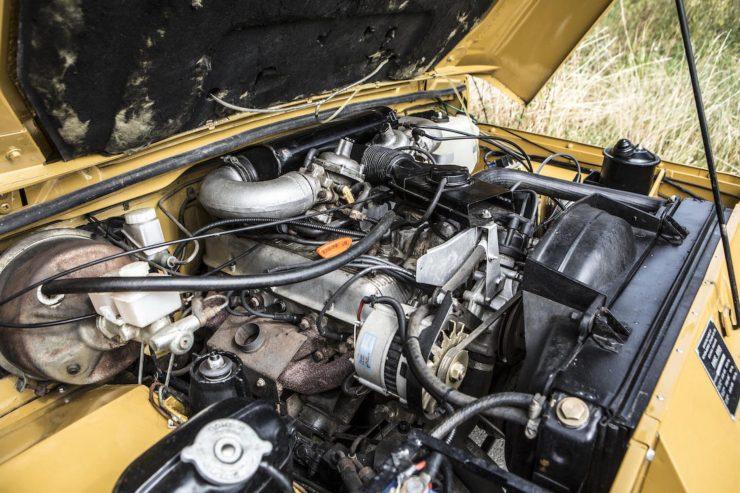 Range Rover Classic Engine