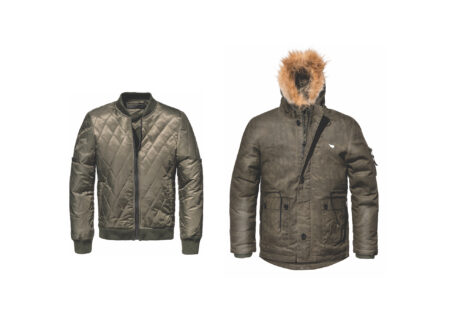 Saint Armoured Cool Climate Motorcycle Parka 450x330