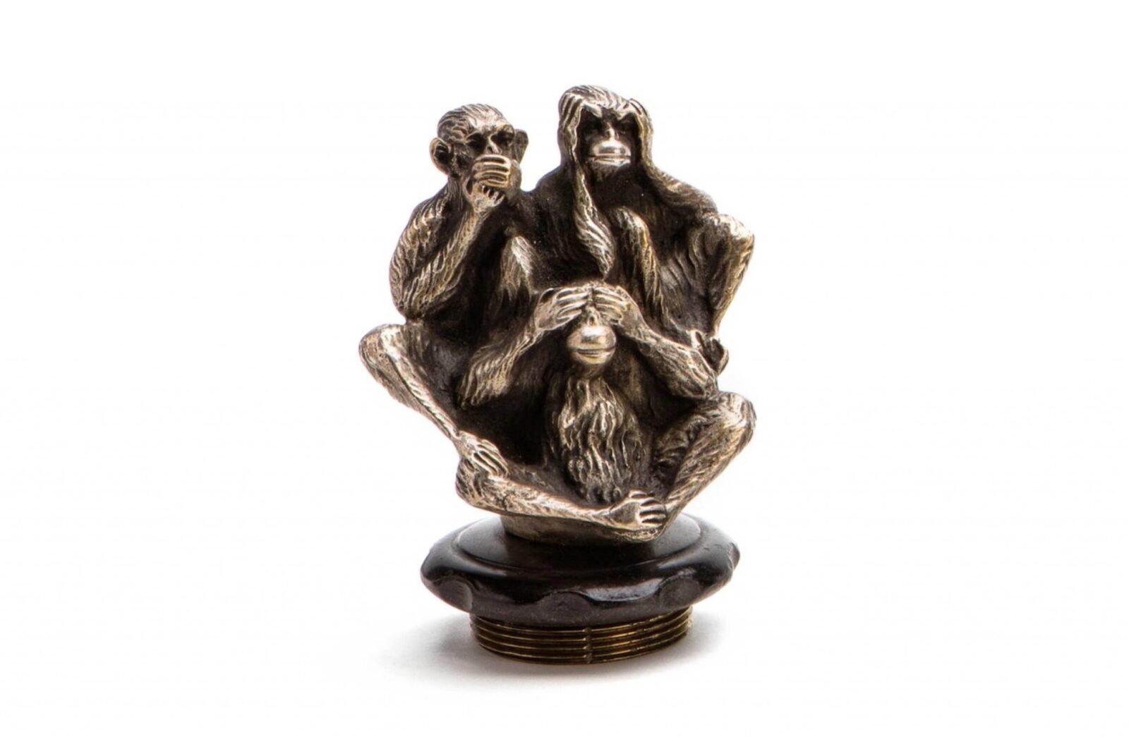 Three Wise Monkeys Radiator Mascot 1600x1045 - Three Wise Monkeys Radiator Mascot