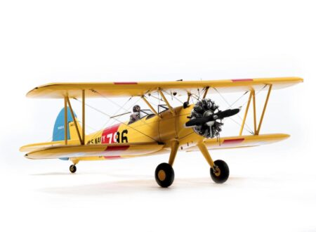 US Navy Boeing PT 17 Stearman 450x330 - 1:5th Scale Model: US Navy Boeing PT-17 Stearman