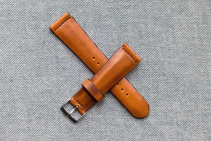 Worn and Wound Vintage Rye Watch Strap 1