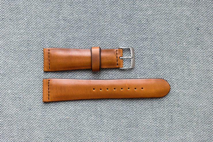 Worn and Wound Vintage Rye Watch Strap 2