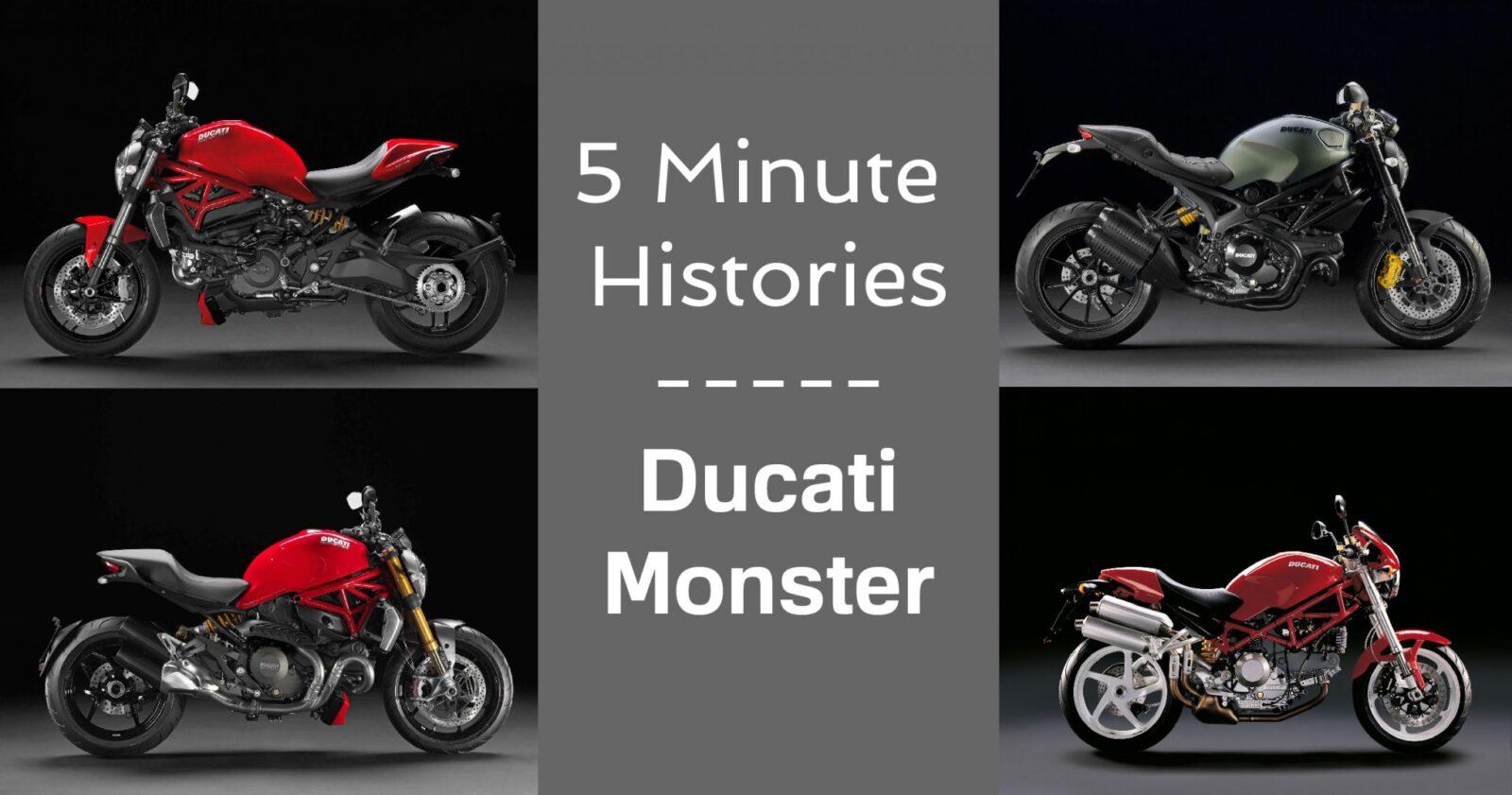 5 Minute Histories: Ducati Monster
