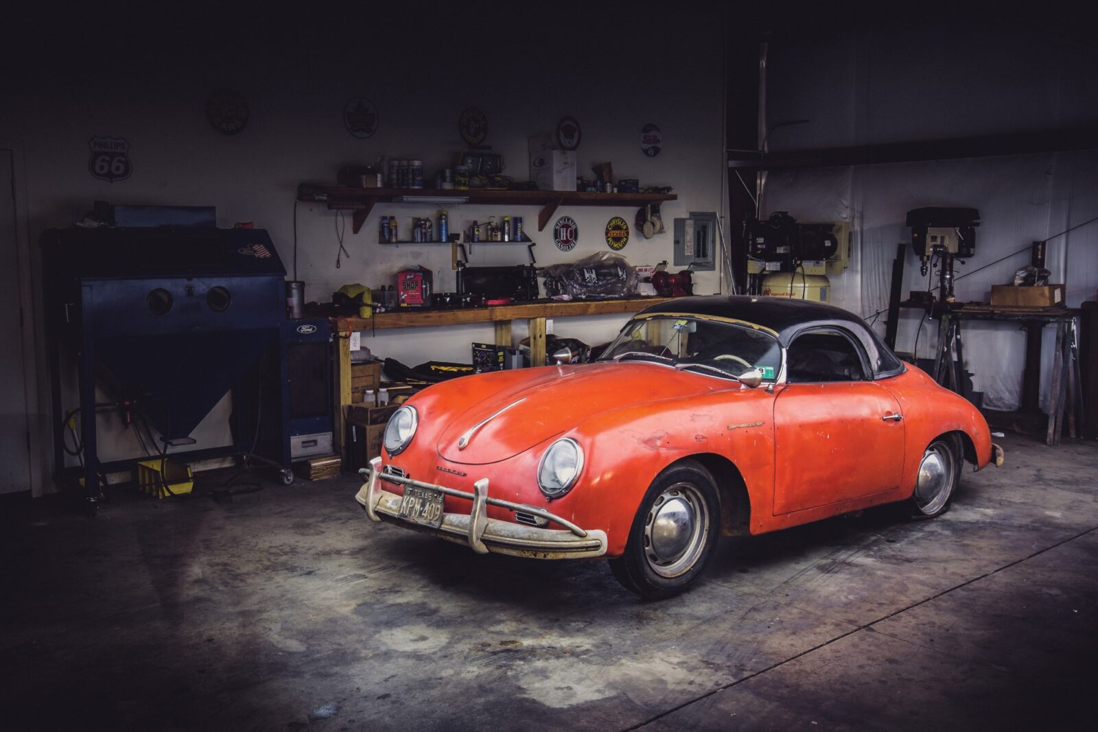 Barn Find 1957 Porsche 356 Speedster