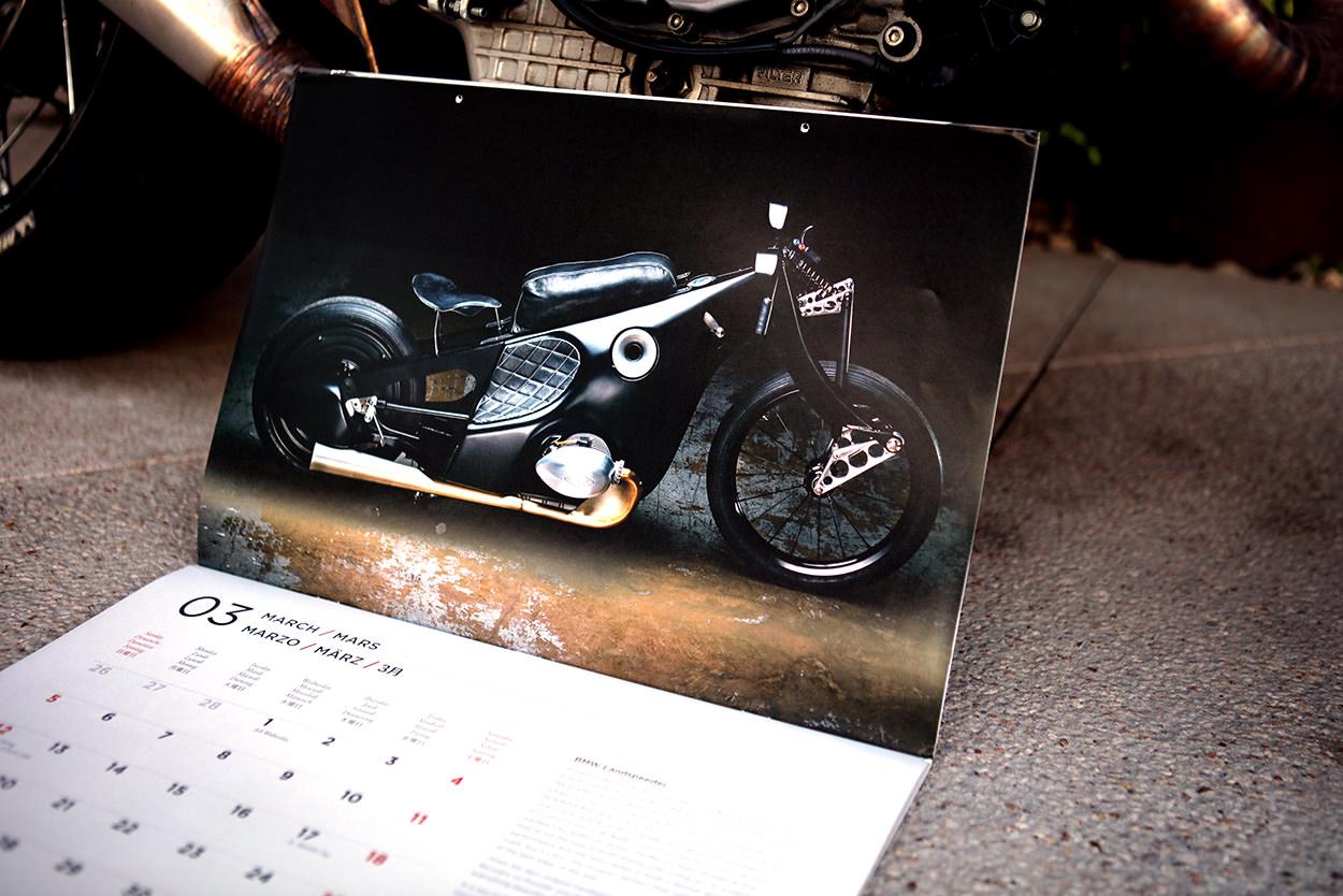 2017 Bike EXIF Calendar