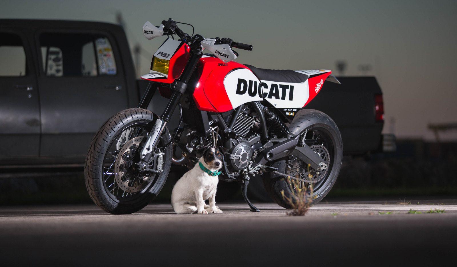 Ducati Supermoto Scrambler
