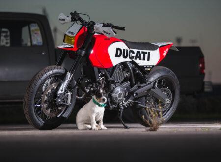Ducati Supermoto Scrambler 450x330