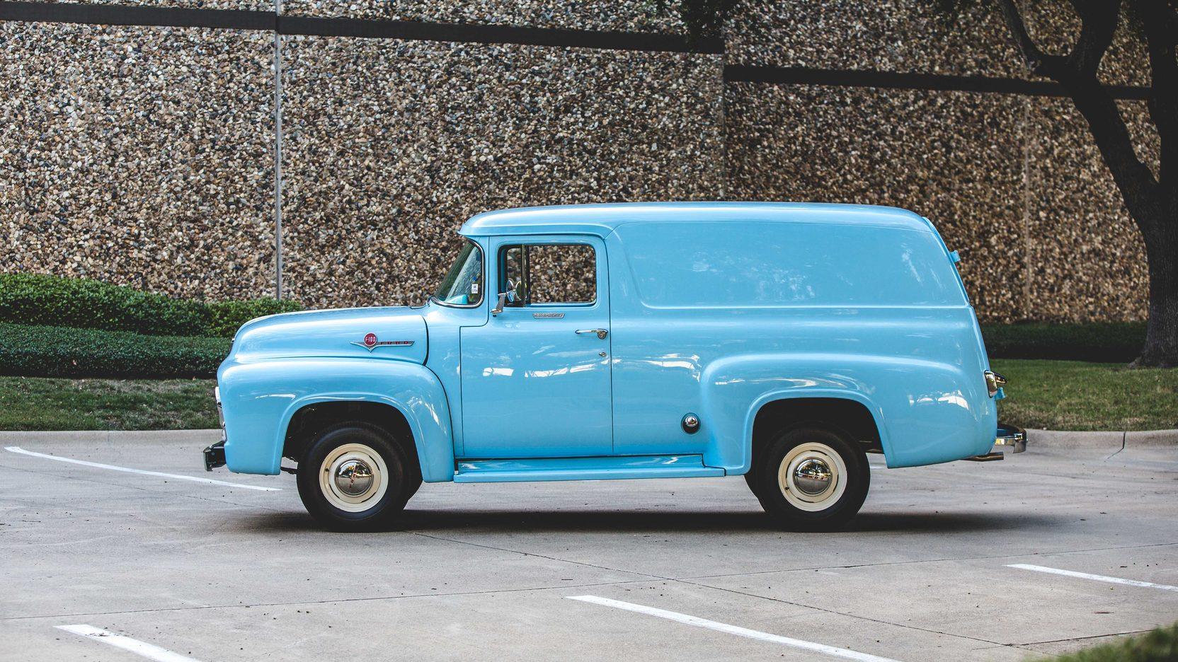 1956 Ford F100 Panel Truck 1955 Art 1