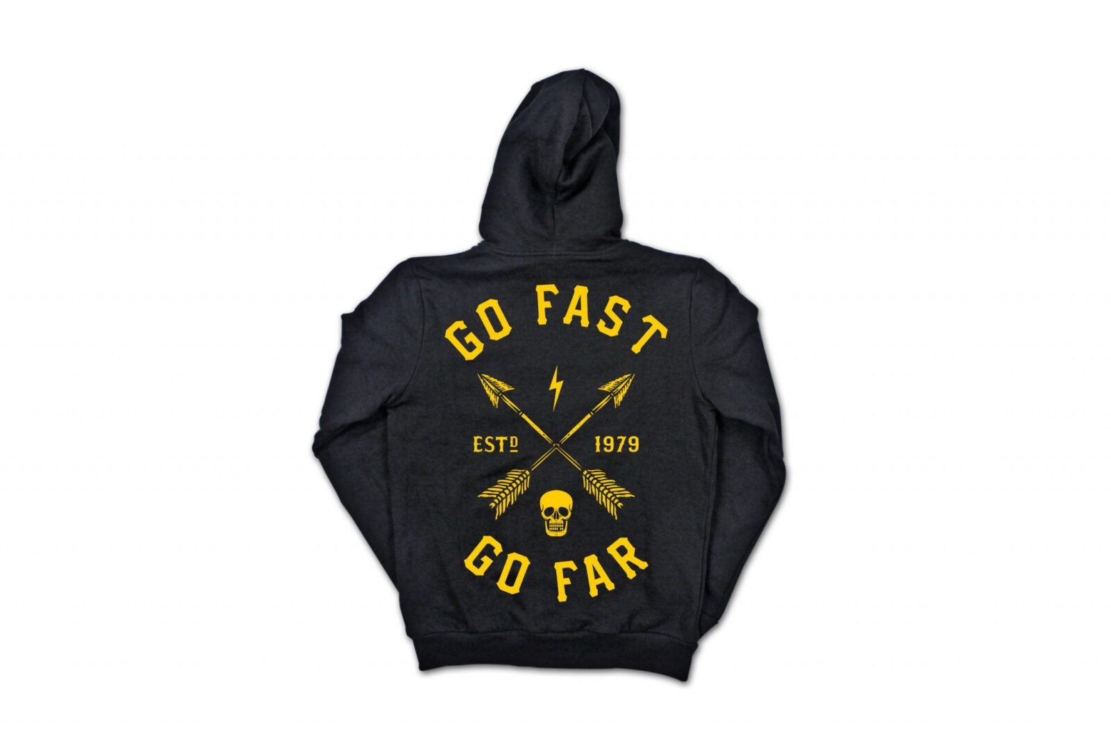 Go Fast Go Far Hoodie by Lords of Gastown 1 1600x1080