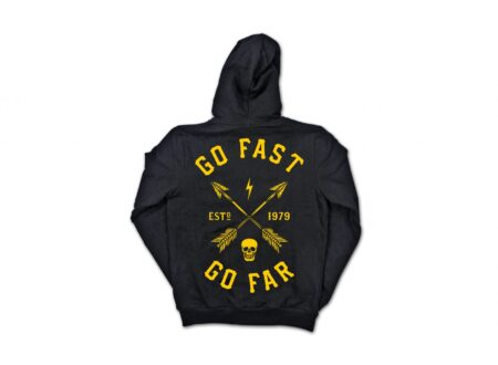 Go Fast Go Far Hoodie by Lords of Gastown 1 450x330