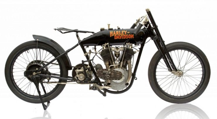 Harley-Davidson F-head motorcycle