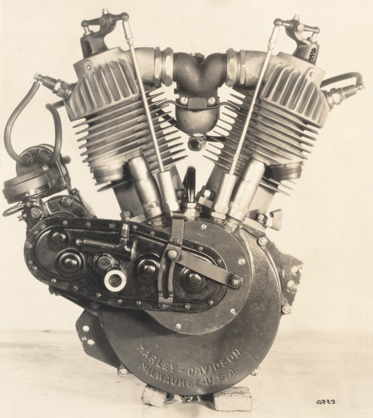 Harley-Davidson F-head engine