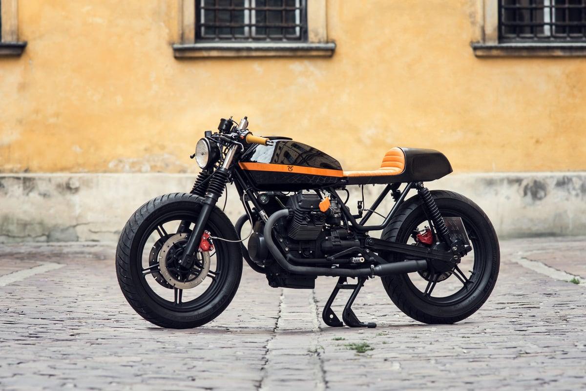 Moto Guzzi V65 17 - Ventus Garage Moto Guzzi V65