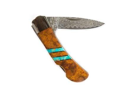 "Santa Fe Stoneworks 1 450x330 - Santa Fe Stoneworks 3"" Damascus Steel Knife"