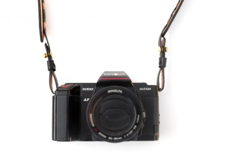 Small Batch Supply Co. Leather Camera Strap 450x330