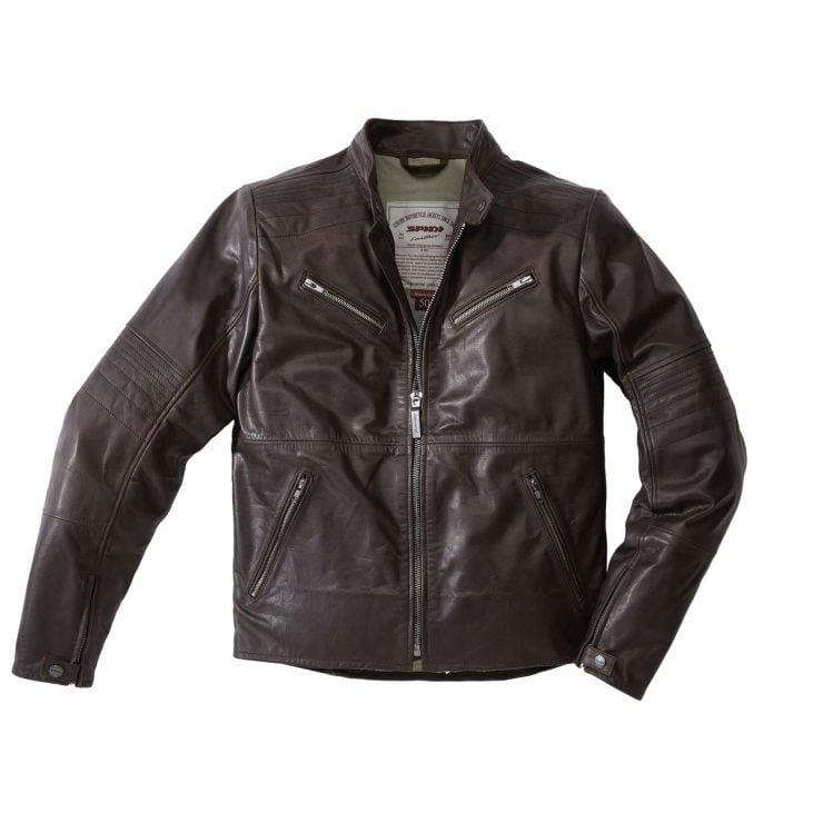 spidi-garage-jacket-brown