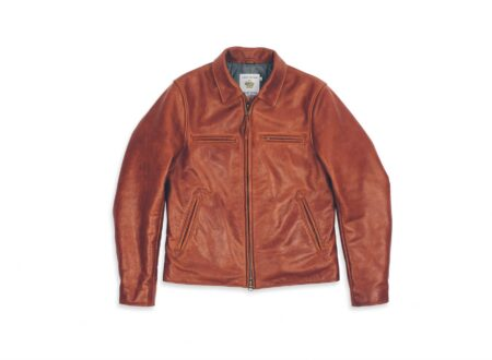Taylor Stitch Whiskey Steerhide Moto Jacket 450x330 - Taylor Stitch x Golden Bear Whiskey Steerhide Jacket