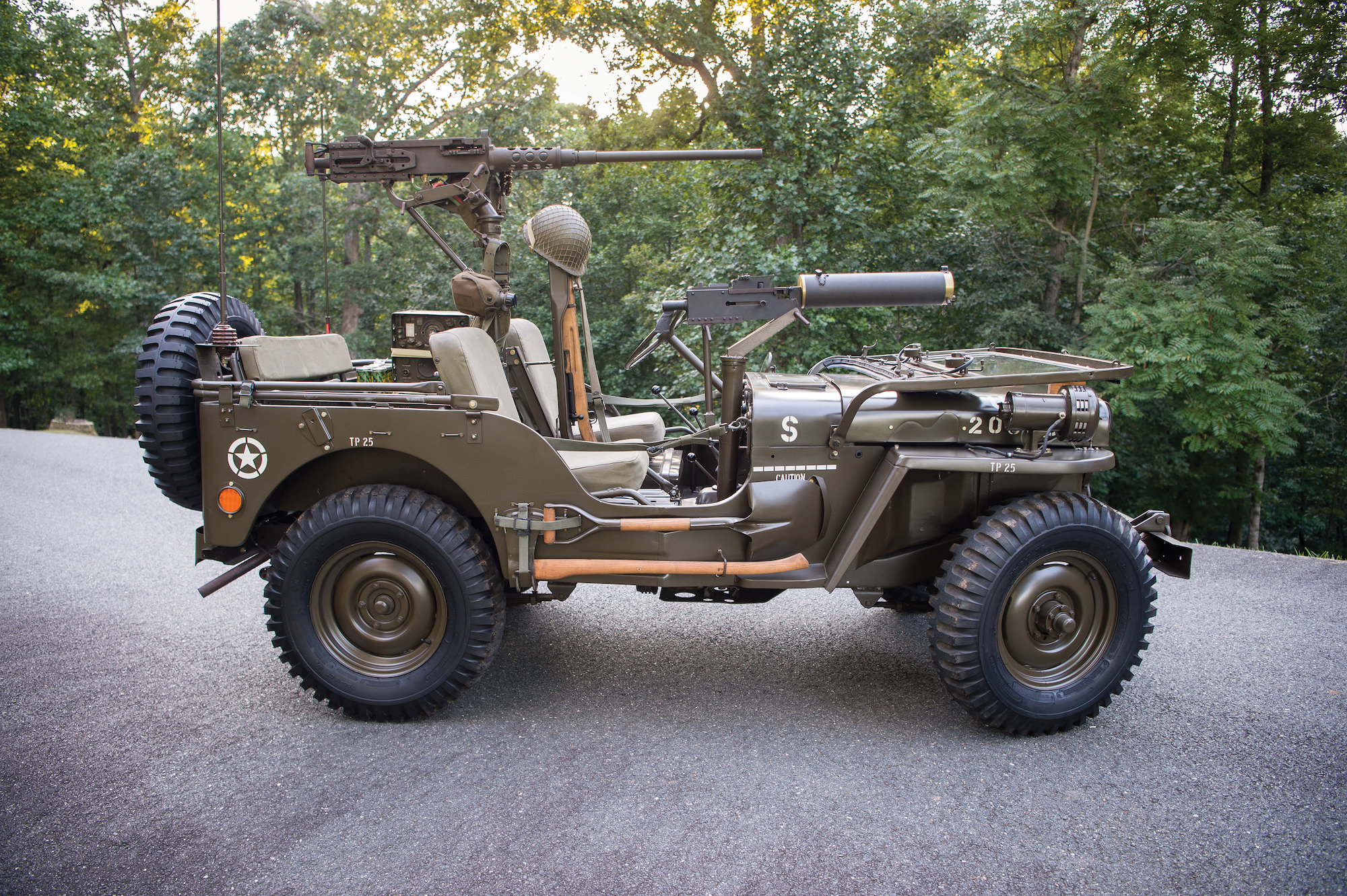 Jeep Wrangler Interior >> 1951 Willys M38 Jeep