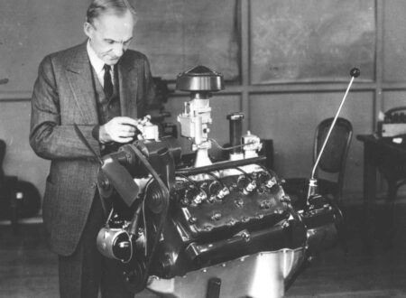 henry ford flathead v8 450x330 - The Invention of the Ford Flathead V8 Engine