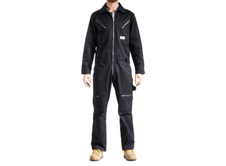 Earnest Co. Black Bancho Overalls 450x330 - Earnest Co. Black Bancho Overalls