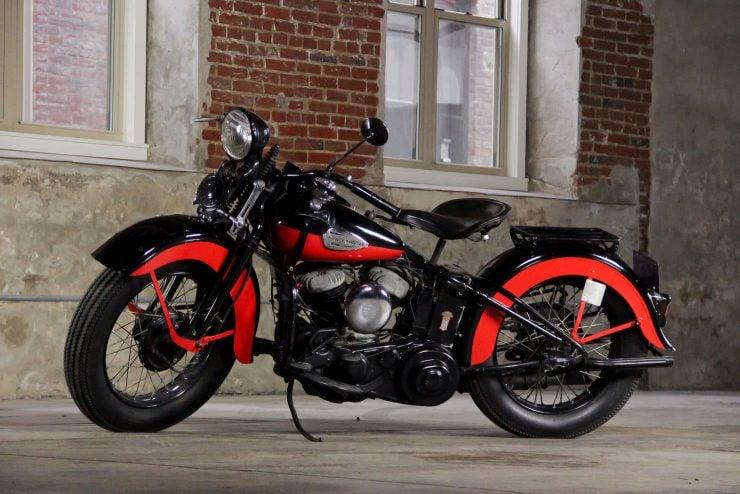 Harley-Davidson Flathead motorcycle