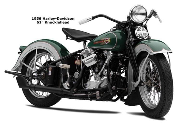 Harley-Davidson Knucklehead motorcycle