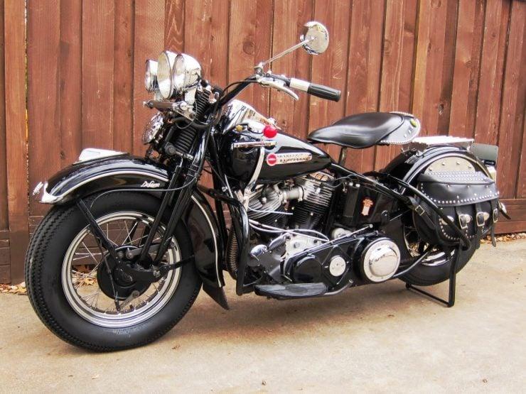 Harley-Davidson Panhead motorcycle