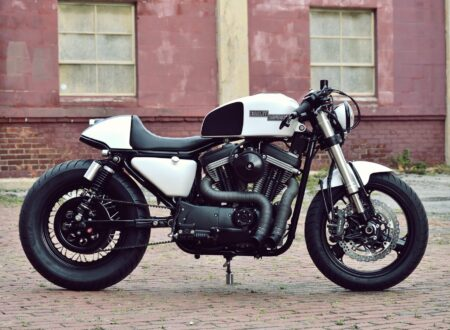 Kustom Research Harley Davidson Cafe Racer