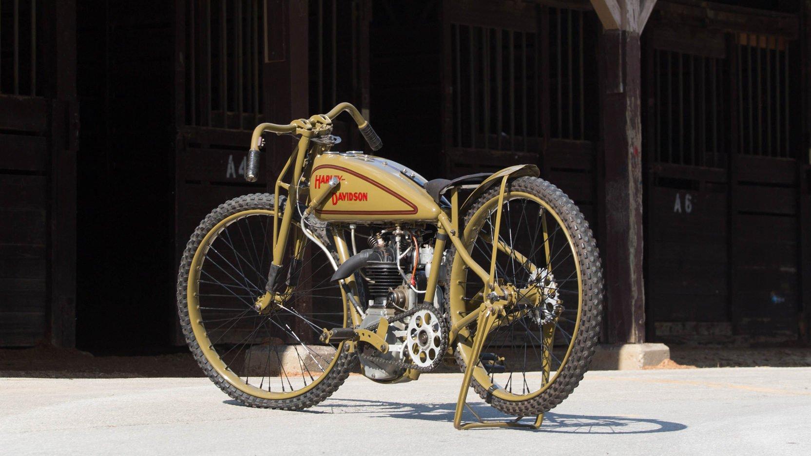 1928 Harley Davidson Ohv 350cc Peashooter: 1928 Harley-Davidson Peashooter