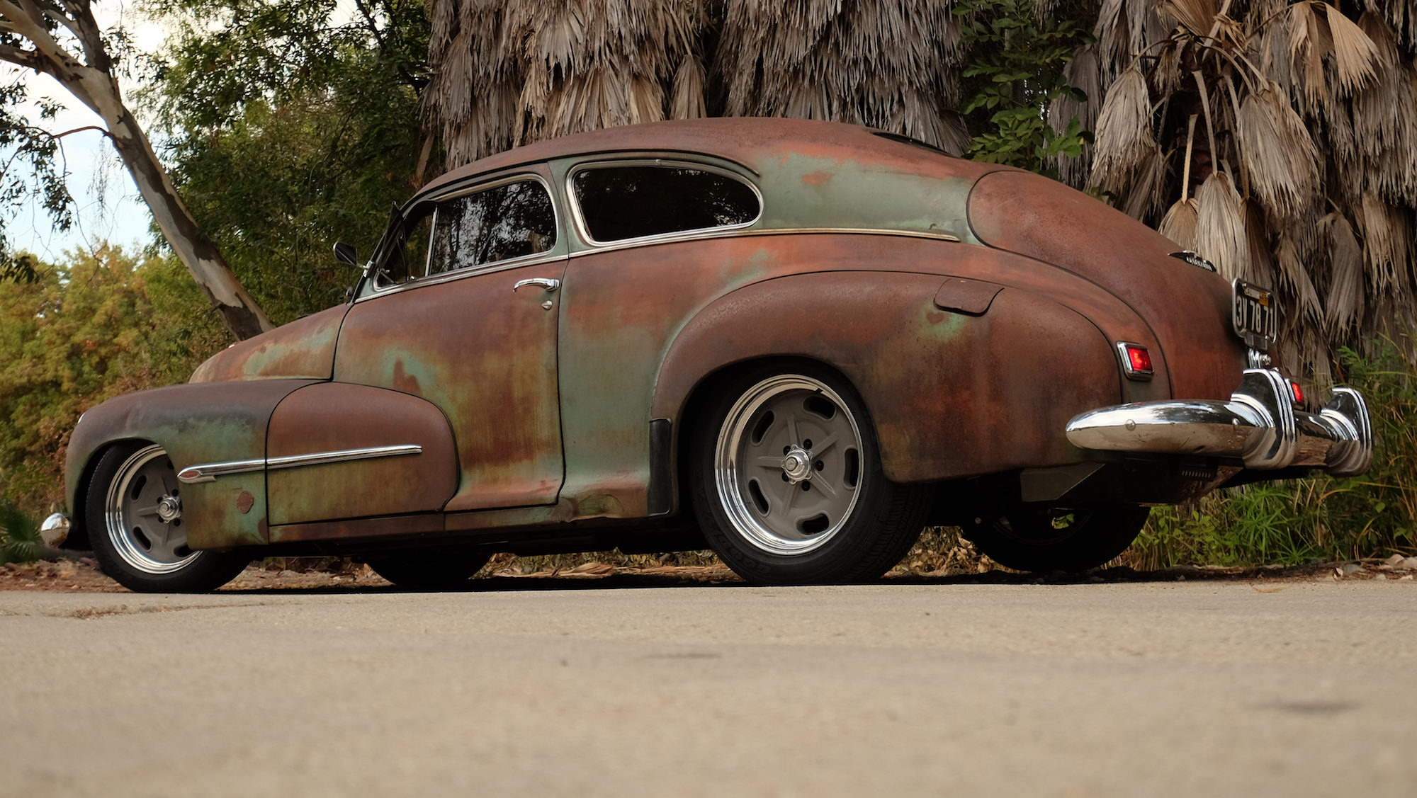 1946 Oldsmobile Icon Derelict Coupe