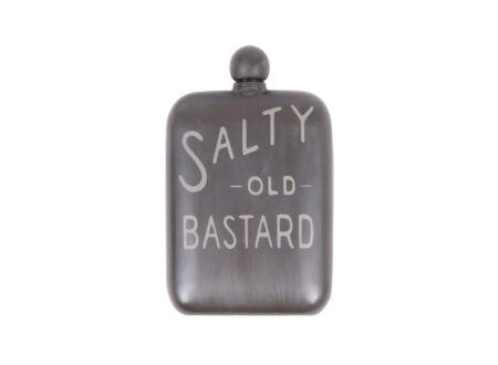 Salty Old Bastard Flask 450x330