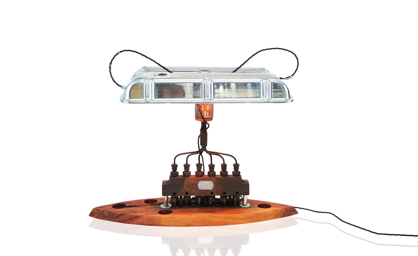 V8 Engine Lamp 1600x981 - Unibro Design V8 Lamp