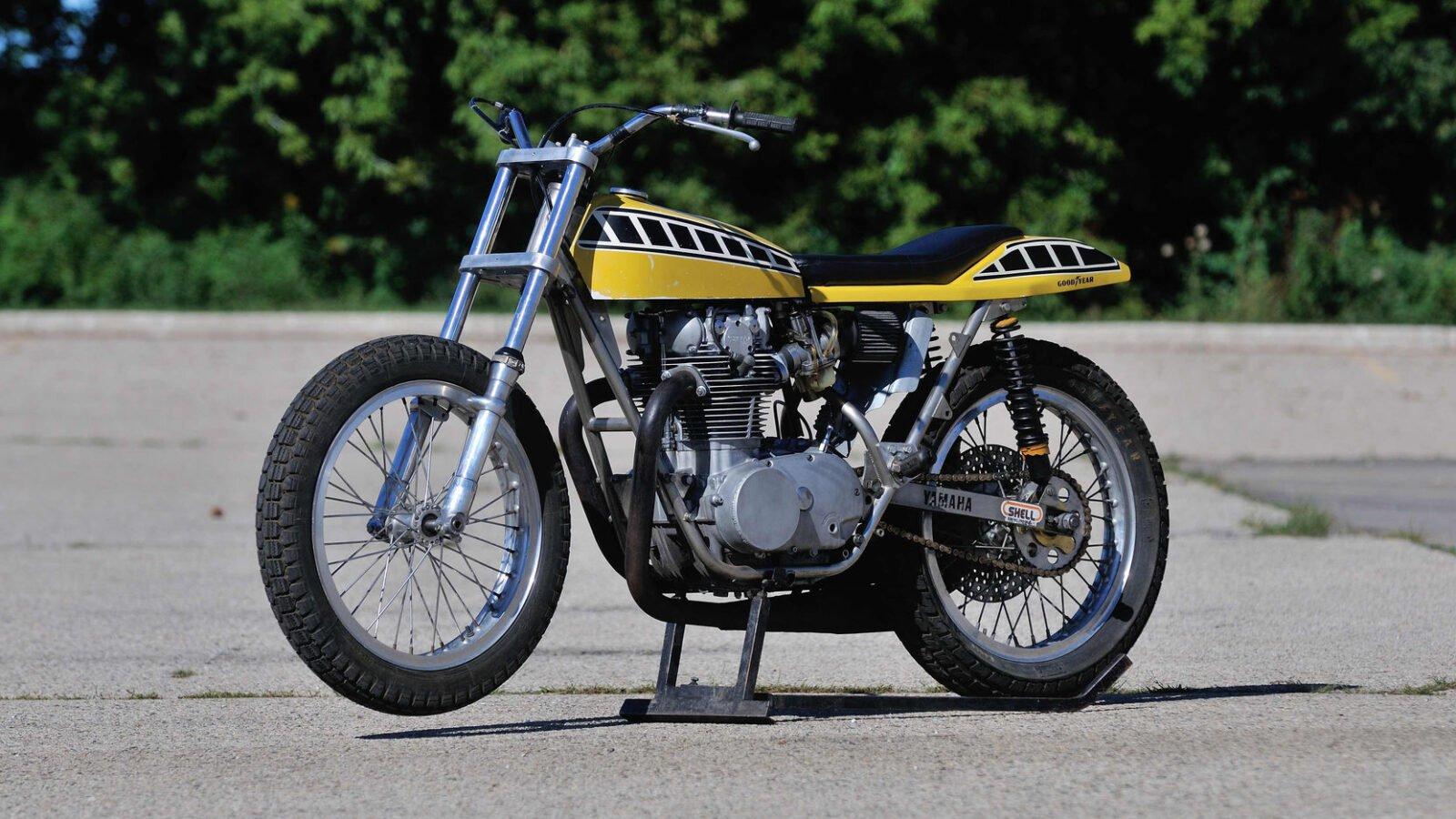 """Yamaha OW72 XS650 1600x900 - """"King"""" Kenny Roberts' Yamaha OW72 Flat Track Racer"""