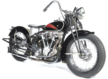 Crocker Motorcycle 450x330 - 1936 Hemi Head Crocker Motorcycle