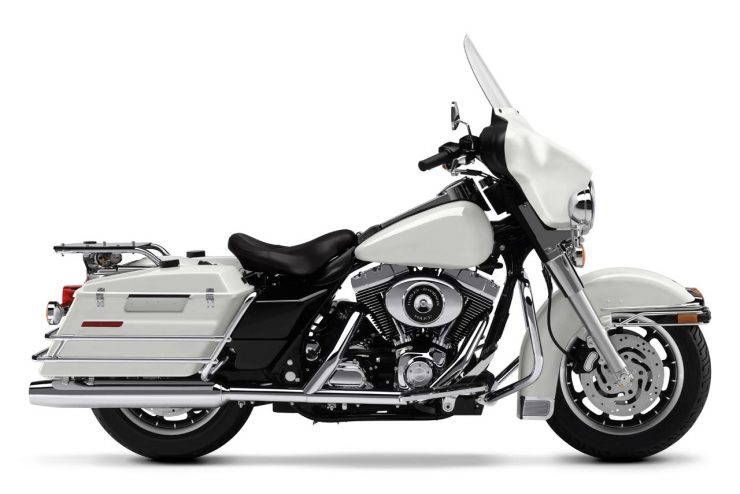 Harley-Davidson Twin Cam Police
