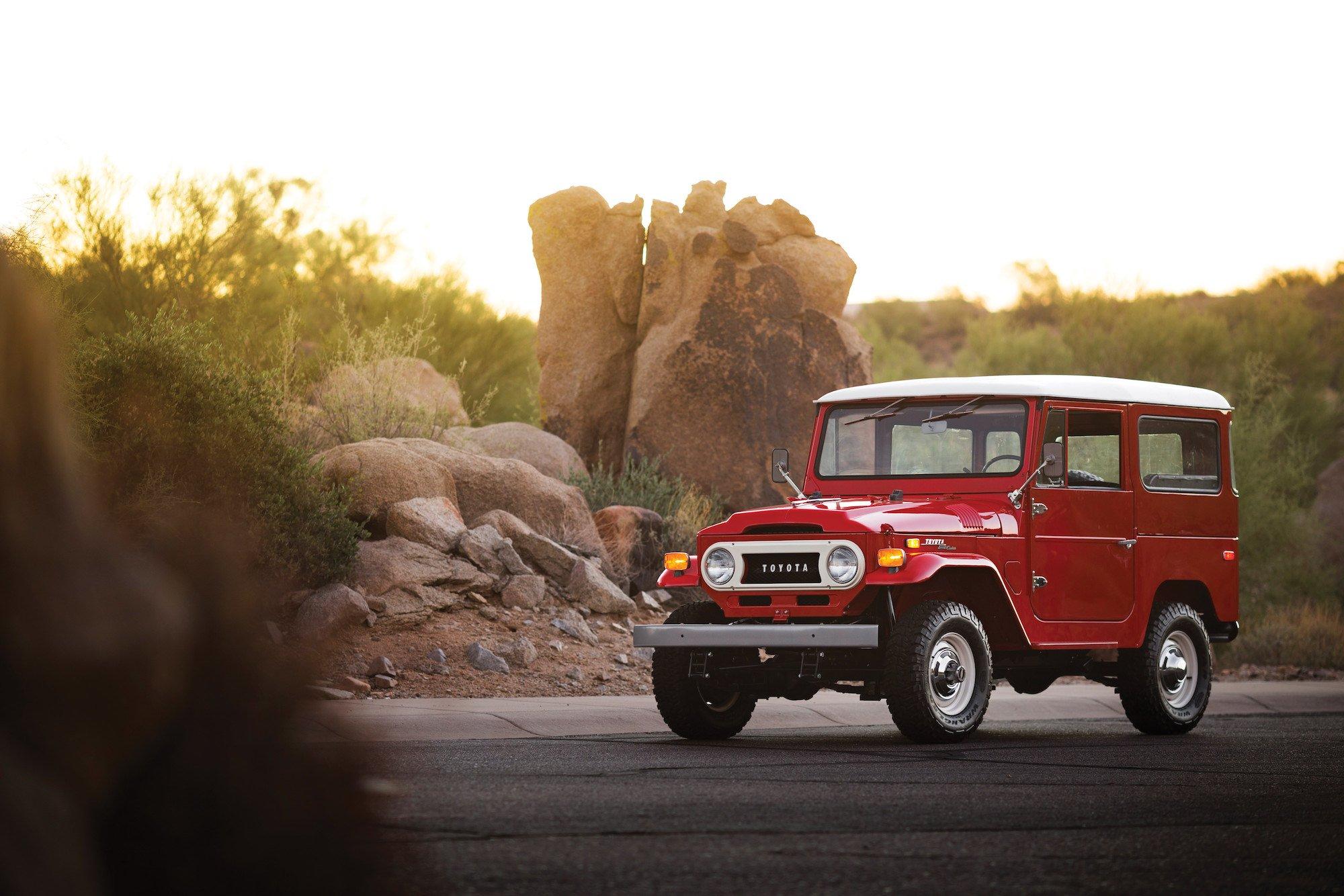 Willys Jeep 2016 >> 1970 Toyota FJ40 Land Cruiser