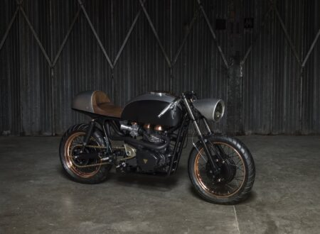 Triumph Thruxton 450x330 - Death Machines of London Triumph Thruxton