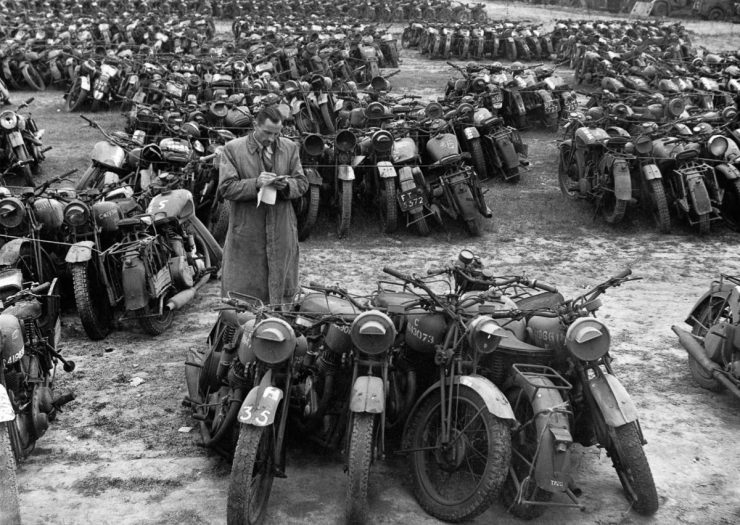 Military Motorcycles