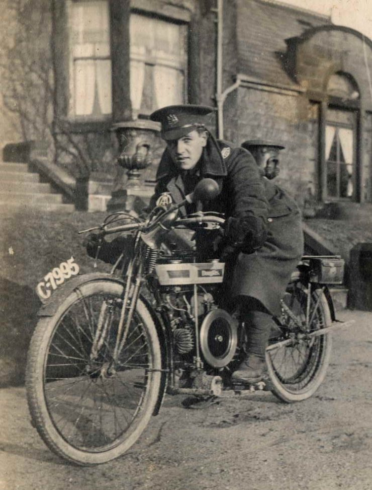 Douglas Military Motorcycle