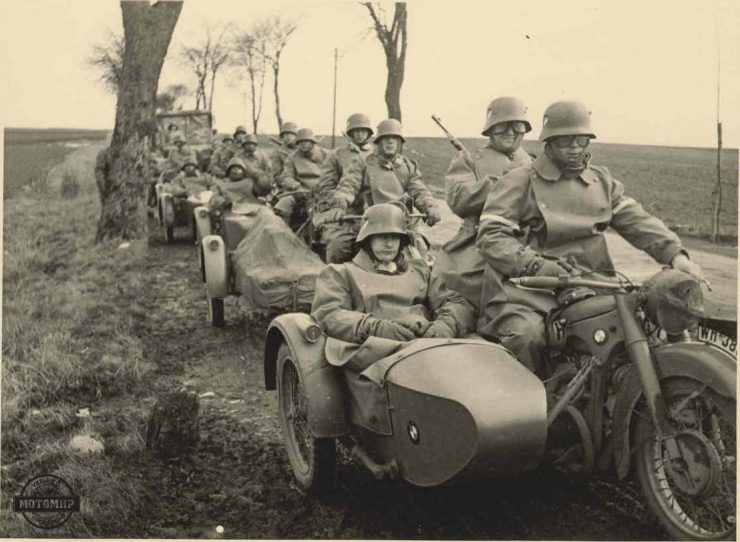 BMW Military Motorcycles
