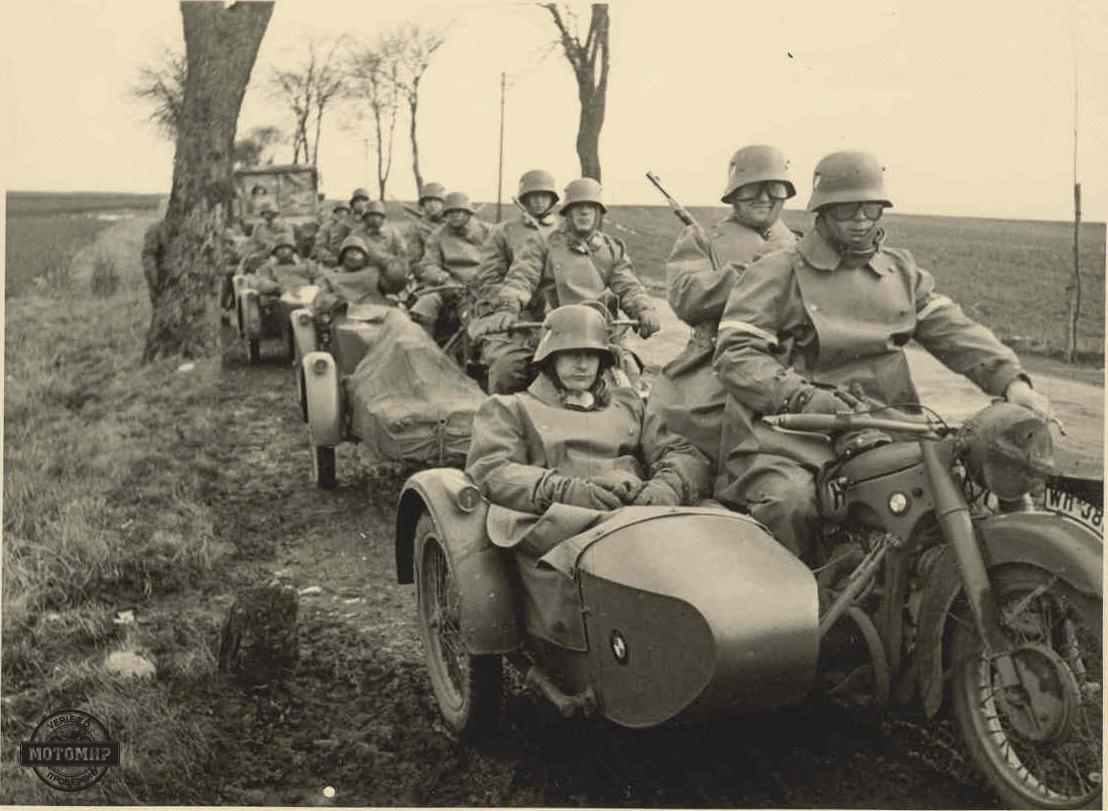 A Brief History Of Military Motorcycles